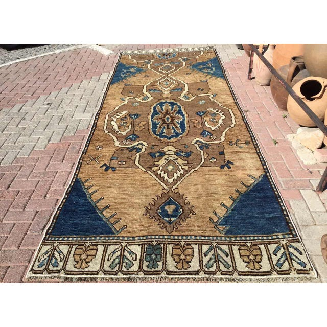 Vintage Hand Knotted Anatolian Rug For Sale - Image 12 of 12