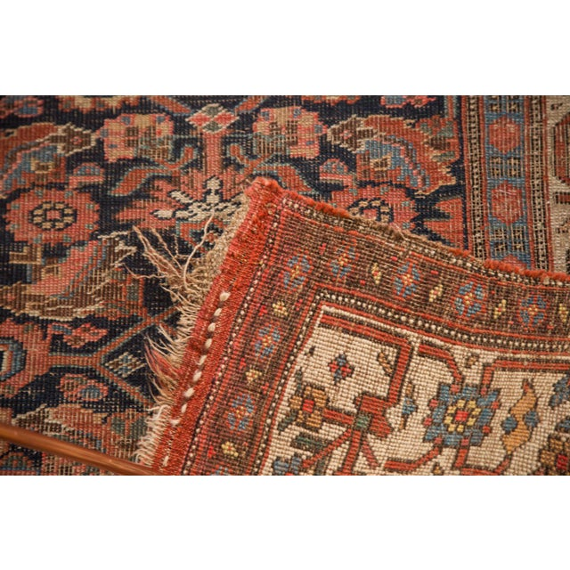 "Antique Bijar Rug Runner - 3'7"" X 10'7"" - Image 3 of 7"