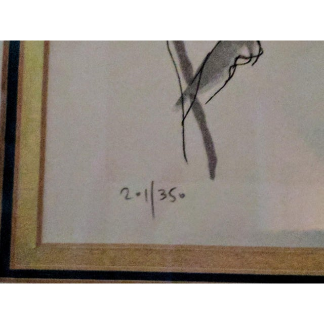 """Alexander Tarkay """"Seasons of the Year"""" Lithograph - Image 5 of 8"""