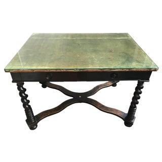 19th Century Antique Victorian Desk For Sale