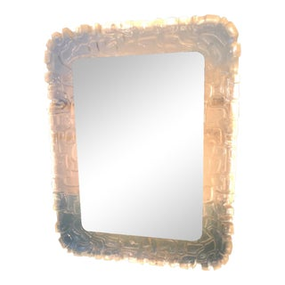 Vintage Backlit Ice Mirror