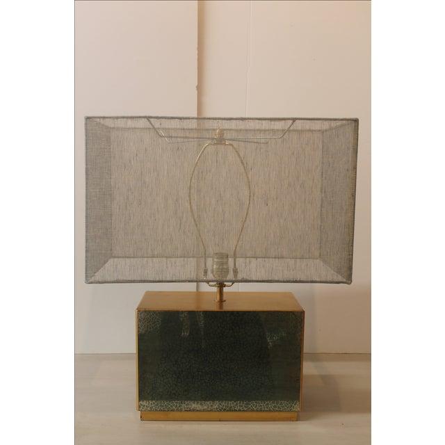 Jade Table Lamp - Image 2 of 6