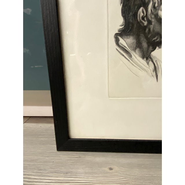 Man as Fox - Physiognomic Heads Series Framed Illustration by Charles Le Bru For Sale - Image 9 of 11