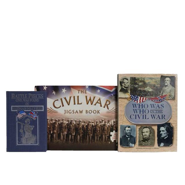 Features a blend of five authentic retro books published 1956-2006. Includes a delightful collection of unique Civil War...