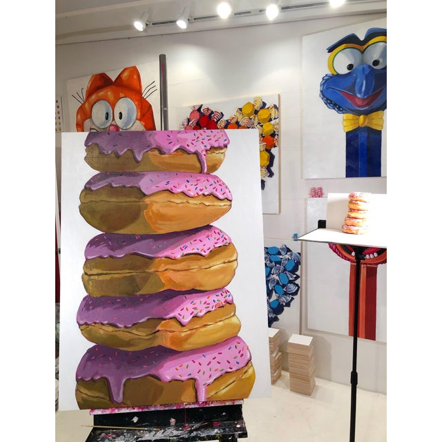 Strawberry Donuts by Nicole Newsted For Sale In West Palm - Image 6 of 7