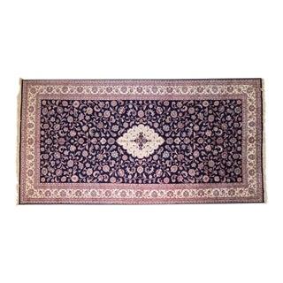 "1990's Leon Banilivi Indo Tabriz Carpet, 10'3"" X 19'9"" For Sale"
