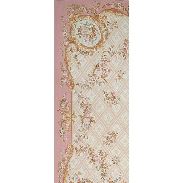 Pasargad Aubusson Hand-Woven Wool Rug- 9' X 12' - Image 2 of 3