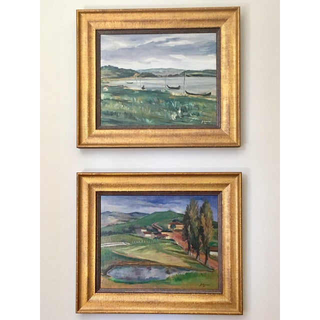 Landscape Paintings by Same Author - A Pair - Image 2 of 7