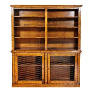 William IV Satinwood Bookcase For Sale