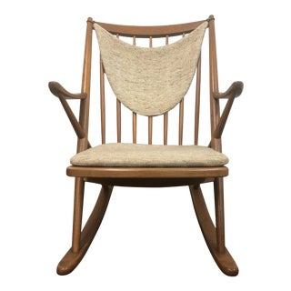 1960s Vintage Frank Reenskaug Rocking Chair For Sale