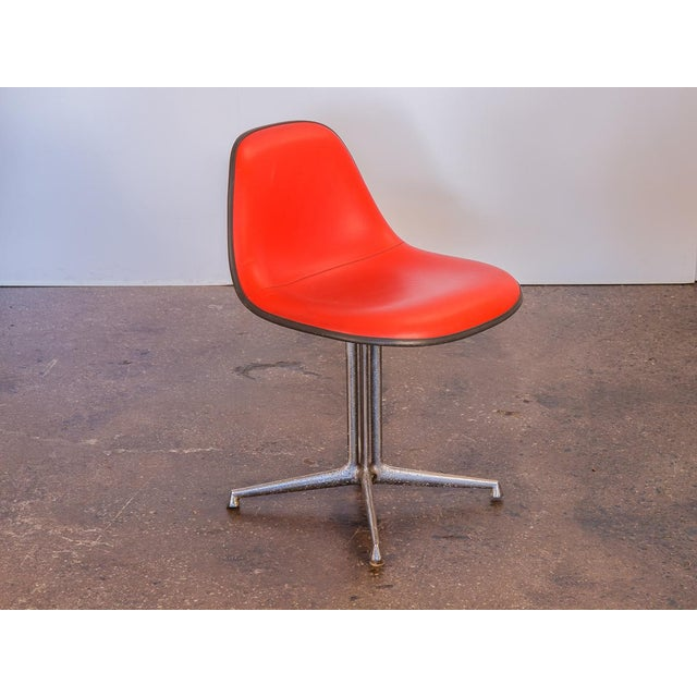 Red vintage La Fonda Chair by Charles and Ray Eames for Herman Miller. Price is for a single chair. We have four...