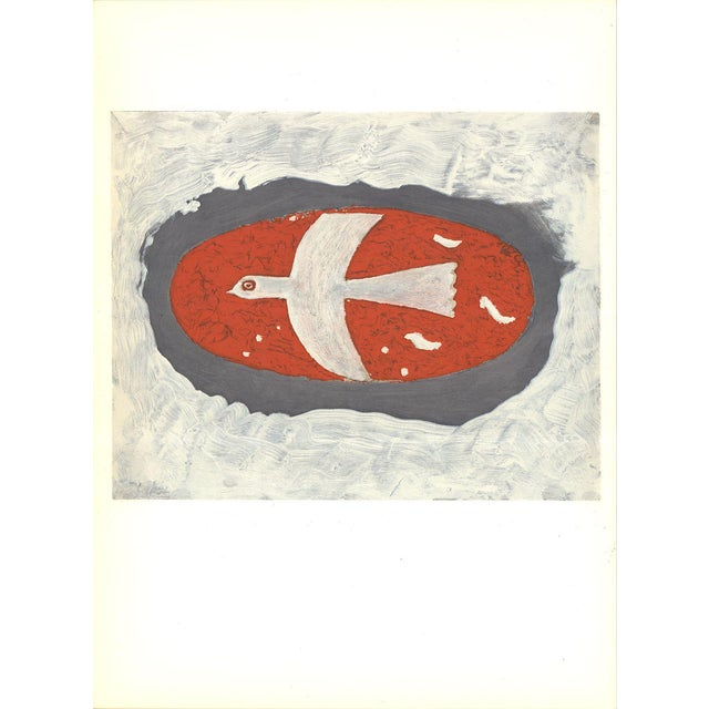 Georges Braque-Untitled-1967 Lithograph - Image 1 of 3
