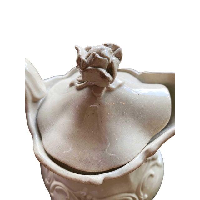 English English Drabware Style Jug For Sale - Image 3 of 6
