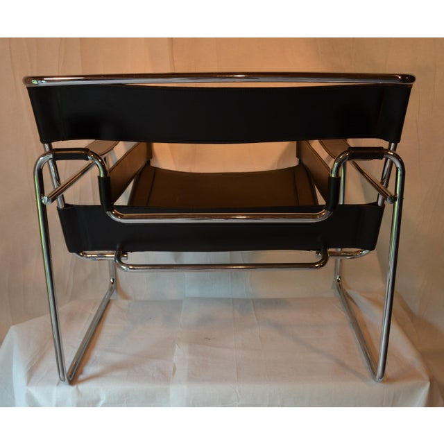 Marcel Breuer Vintage Wassily Chair, in the Style of Marcel Breuer For Sale - Image 4 of 11