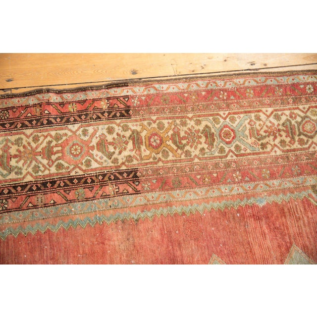 """Vintage Distressed Malayer Rug - 5' X 7'7"""" For Sale - Image 9 of 13"""