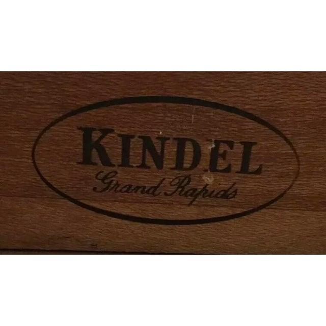 Kindel Furniture White Kindel Nightstand Cabinet For Sale - Image 4 of 7