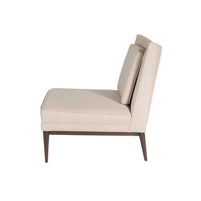 Modern Customizable Colin Slipper Chair For Sale - Image 3 of 5