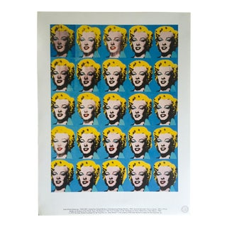 "Andy Warhol Foundation Rare 1993 Lithograph Print ""Twenty Five Marilyns"" 1962 For Sale"