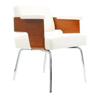 """Antoine Philippon & Jacqueline Lecoq """"Comfort"""" Armchair C. 1950 For Sale"""