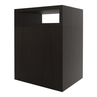 Contemporary 101 Side Table in Black by Orphan Work, 2019 For Sale