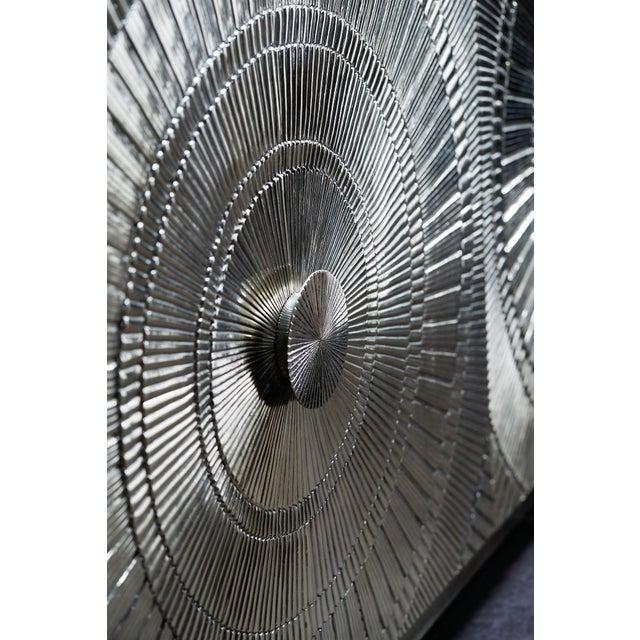 2010s Bernhardt Silver Credenza For Sale - Image 5 of 6