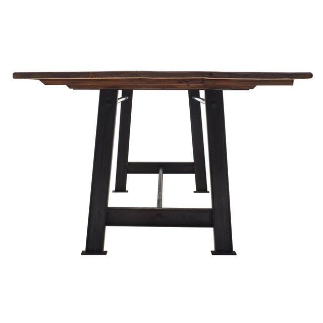 """""""Atelier"""" French Farm Table For Sale In Austin - Image 6 of 10"""
