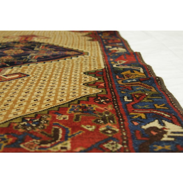 1920s Vintage Persian Malayer Design Rug - 3′5″ × 12′ For Sale - Image 4 of 10