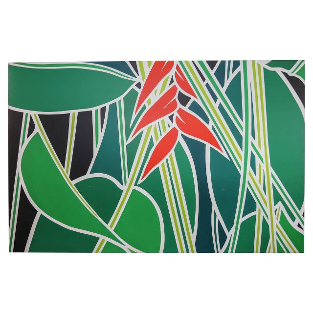 American Classical Banana Plant by Ann Bruce Stoddard, American, 20th Century For Sale - Image 3 of 3