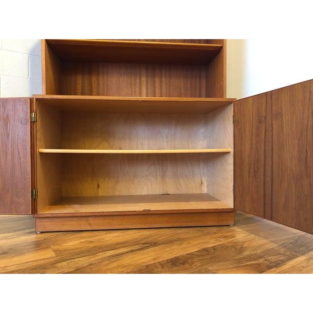 Borge Mogensen for Soborg Mobler Danish Teak Cabinet and Bookshelf For Sale In Seattle - Image 6 of 11