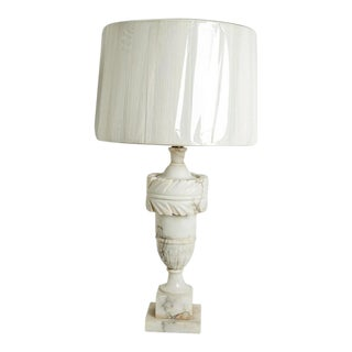 ALABASTER LAMP For Sale