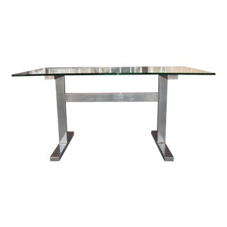 1930s Contemporary Rectangular Desk. For Sale