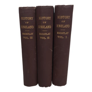 History of England Vol I, II & III C1880 - 3 Piece Set For Sale