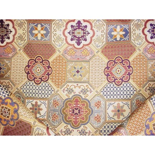 Boho Chic Kravet Lee Jofa 27004 Gamelan Andalusian Brocade Upholstery Fabric - 13-5/8y For Sale
