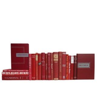 Midcentury Garnet Novels, S/20 For Sale