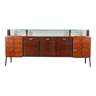 Large Mid Century Italian Sideboard For Sale