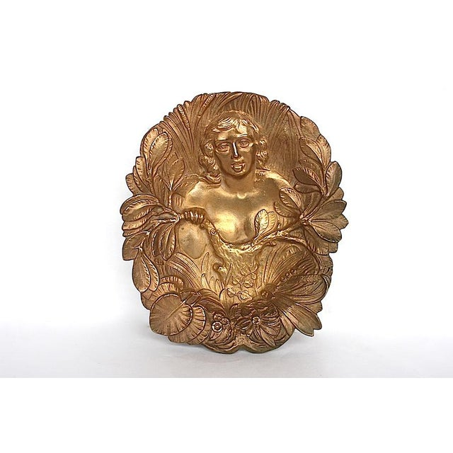 Bronze Art Nouveau Trinket Tray For Sale - Image 9 of 9