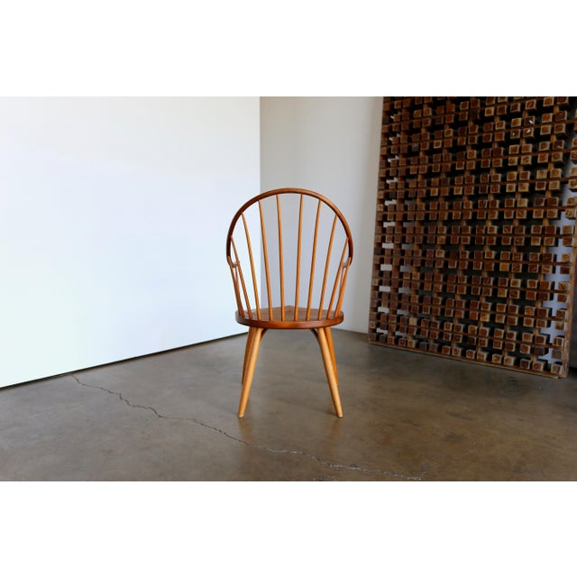 Brown Mid Century John Onstine Handcrafted Continuous Armchair For Sale - Image 8 of 10