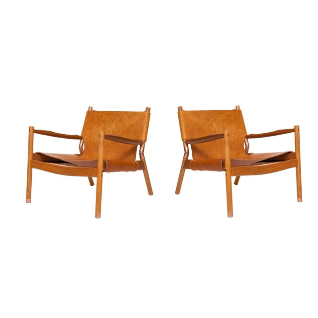 Pair of Erickson Aesthetics Teak Lounge For Sale In New York - Image 6 of 6