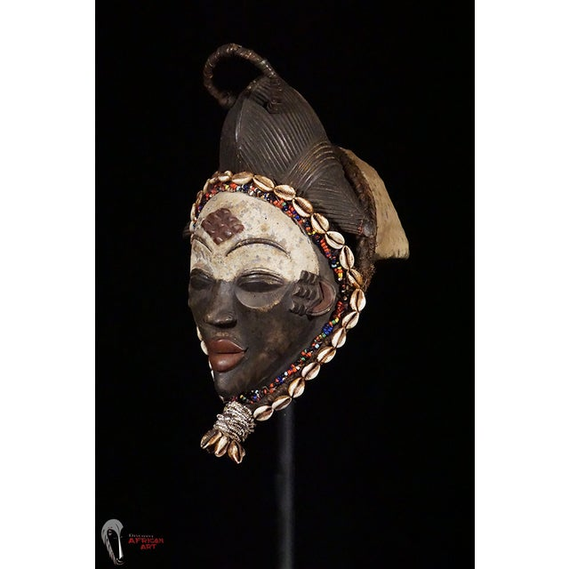 Punu African Tribal Mask - Image 2 of 10