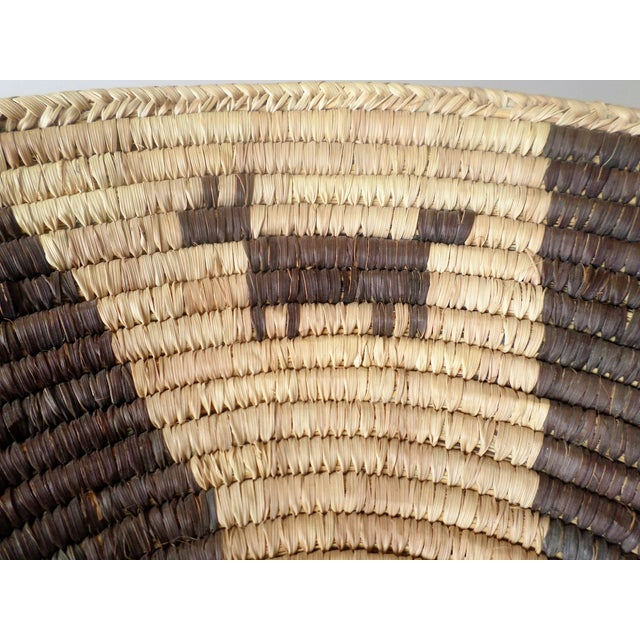 Indian Native American Kumeyaay Mission Tribal Basket For Sale - Image 9 of 10