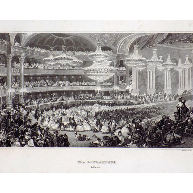 """The Opera House in Paris"" 1855 Engraving - Image 2 of 6"