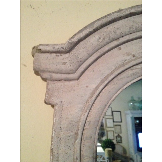 French French Architectual Style Mirror For Sale - Image 3 of 6