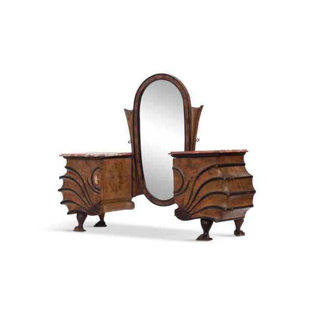 Art Nouveau Vanity Console For Sale - Image 9 of 11
