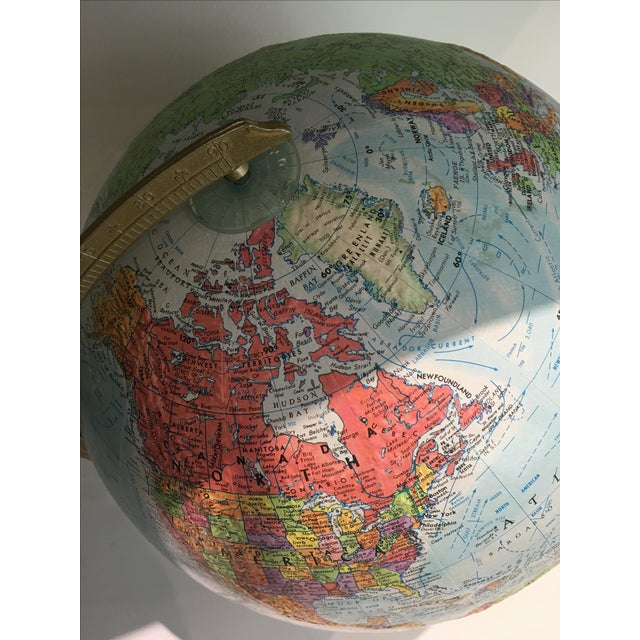 1970s Repogle Terrestial Globe - Image 5 of 5