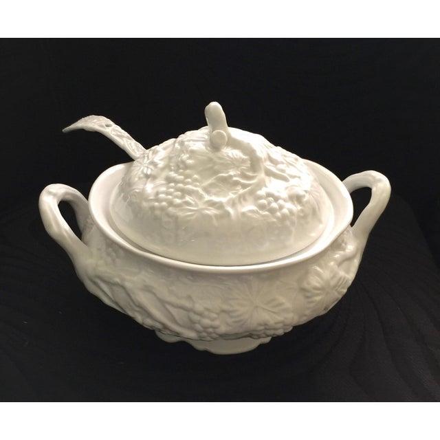 Vintage Soup Tureen & Ladle - Image 2 of 4