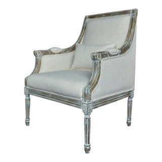 21st Century Kate Linen Chair For Sale