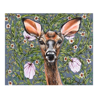 """Deer"" Original Artwork by Naomi Jones For Sale"