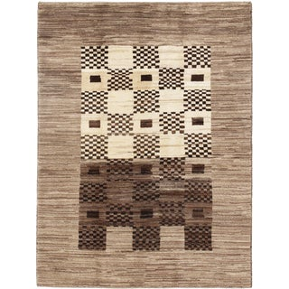 "Pasargad N Y Persian Gabbeh Rug - 4′11″ × 6′6"" For Sale"