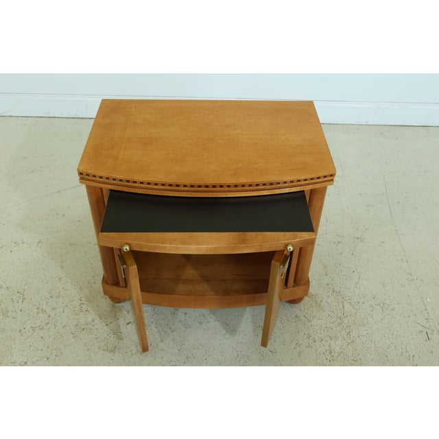 Traditional Hickory White Satinwood Genesis Collection Nightstand For Sale - Image 3 of 7