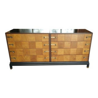 1950s Mid Century Modern Johnson Furniture Renzo Rutili Chest of Drawers For Sale